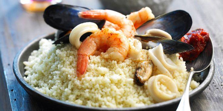 Couscous aux fruits de mer