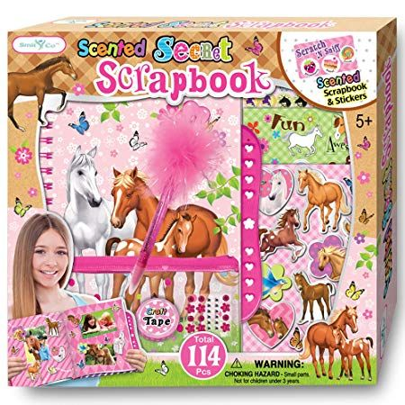 Scrapbook Kit For Girls 5 6 7 8 9 10 Year Old Girl Gifts