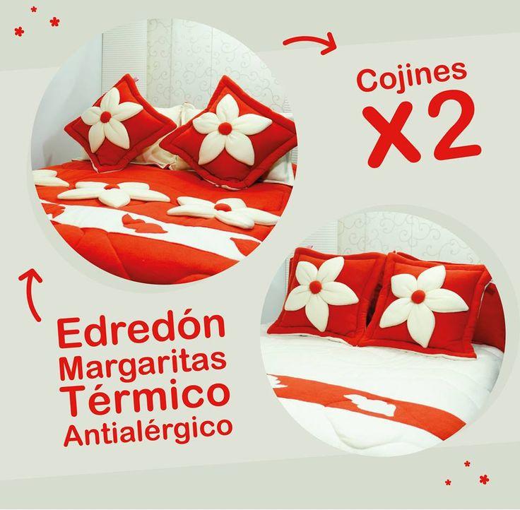 EDREDON CAMA DOBLE COLORES A ELECCION