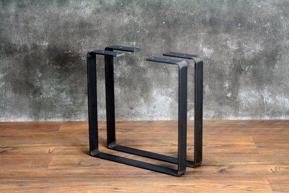 steel coffee table legs metal bench