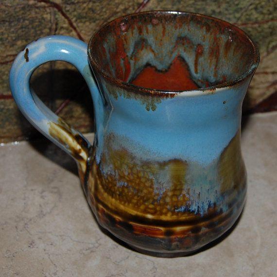 cool pottery mug