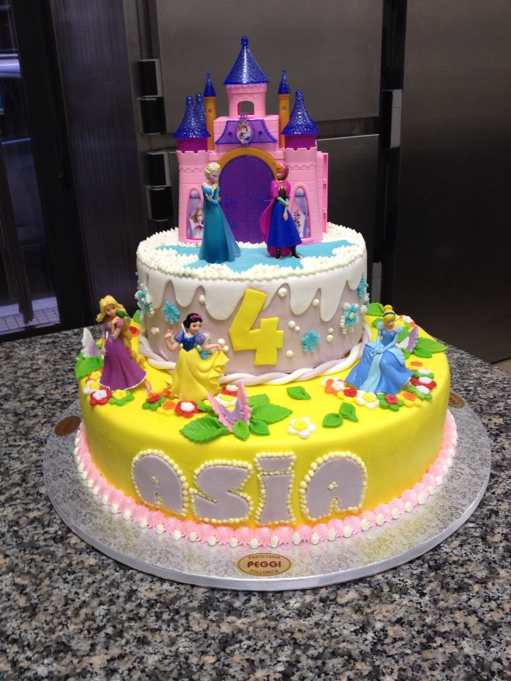 torte di principesse torta principesse : 1000+ images about Torte compleanni on Pinterest Torte, Homer ...