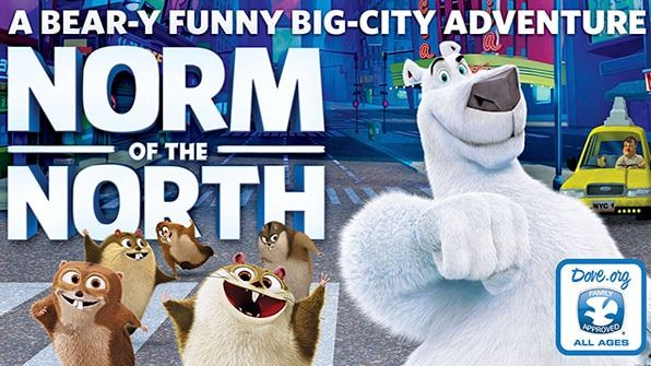 Norm Of The North, Movie on BluRay, Family Movies, Kids