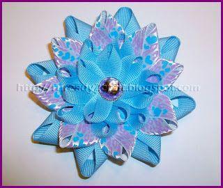 RuReady 2 Craft?: Gardenia Flower Hair Bow Craft