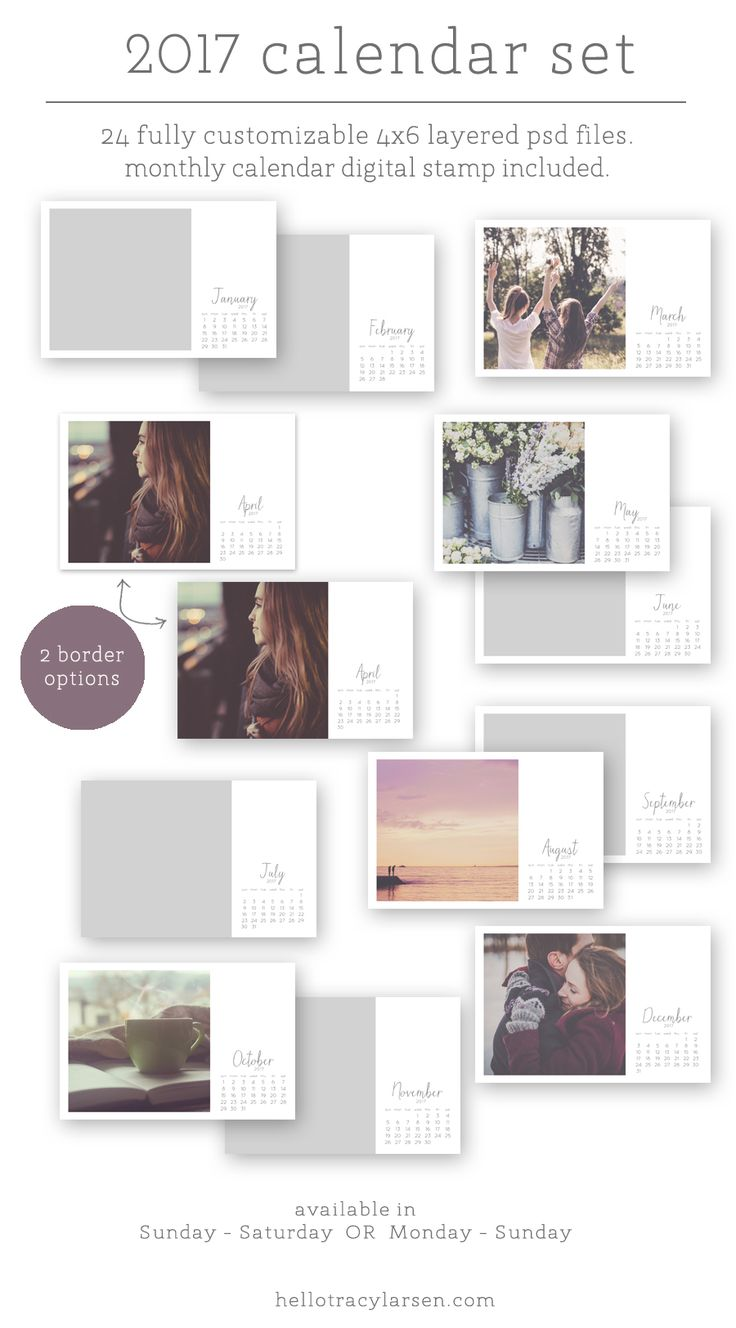 1000 ideas about monthly calendars on pinterest for Customizing project templates