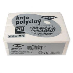 Pâte polymère Kato Polyclay 354 gr Blanc (n°509)