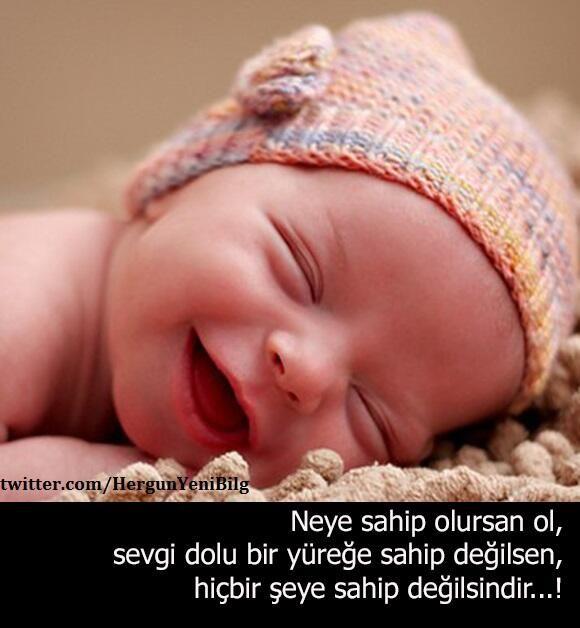 Bebeğinizi sevmenin önemi. Mutlu bebekler