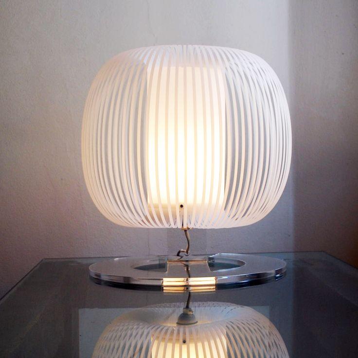 SFERA S, nylon table lamp by ZUUUM, design Samuele Santi
