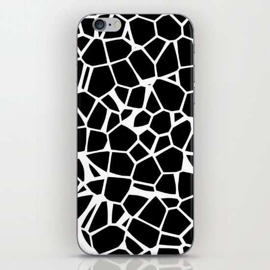 Voronoi Essentials iPhone & iPod Skin