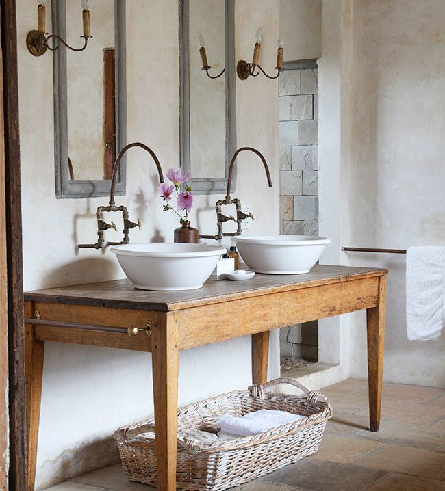 Ba o provenzal ventas en westwing bathrooms - Decoracion francesa provenzal ...