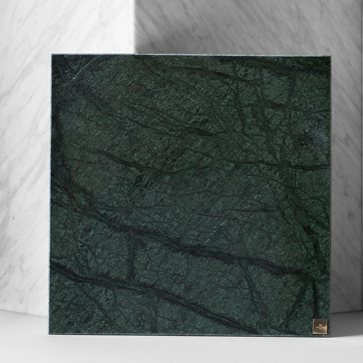 Skultuna Plus 30x30cm, Grön Marmor, Skultuna