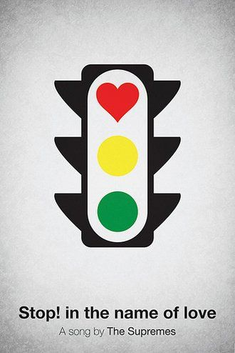 Picture-Black Posters, Viktor Hertz, Posters Design, Graphics Design, Music Posters, Pictogram Music,  Stoplight,  Traffic Signals, Traffic Lights