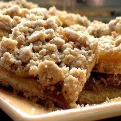 Обалденный яблочный пирог за 5 минут! Вкусный и быстрый, с начинкой из яблок и вкусным штрейзелем, который многие могут есть и без пирога – такая это вкуснота!