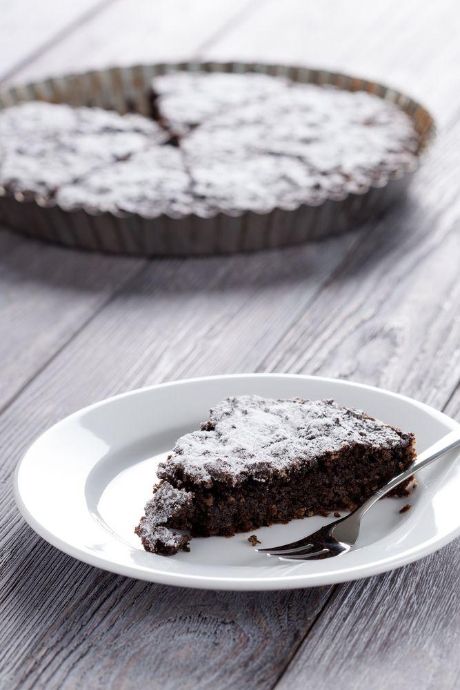 Flourless orange & chocolate cake