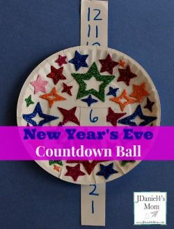 New Year's Eve Countdown Activity