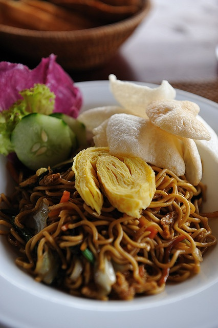 Mie Goreng (Indonesian styled fried noodle): my all time favourite <3