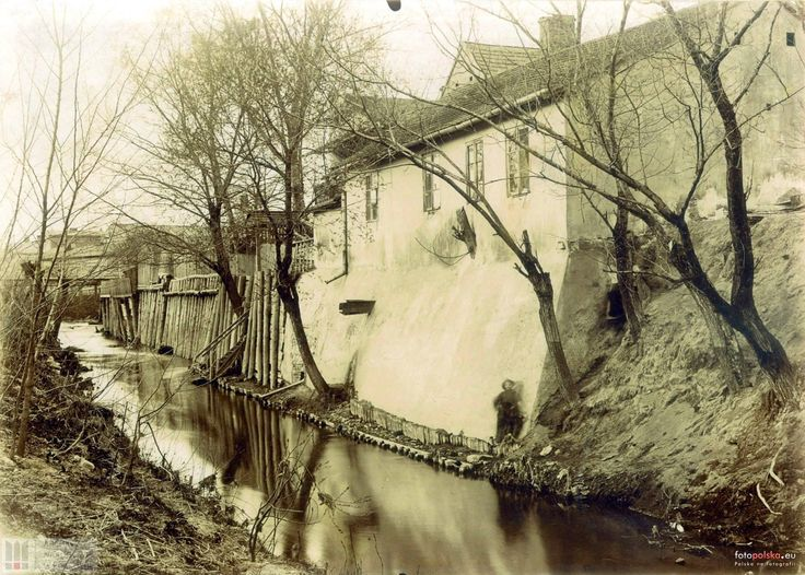 ul. Retoryka, Kraków - 1902 rok, stare zdjęcia