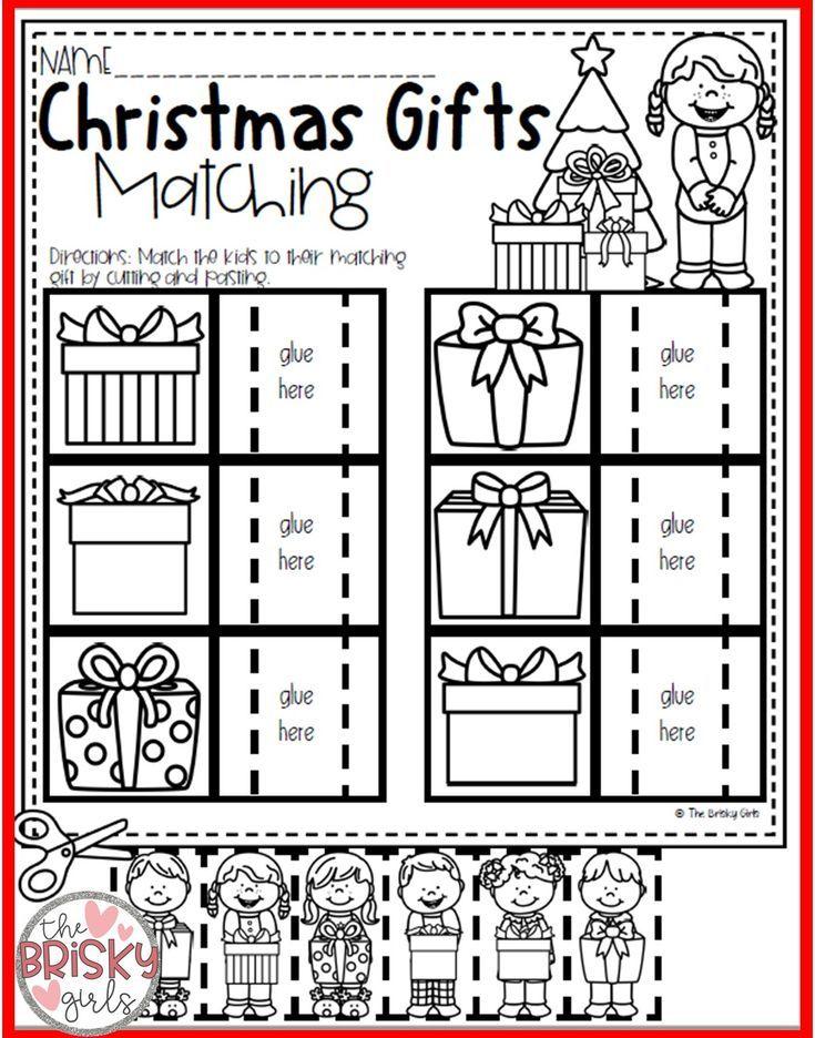Weihnachtsaktivitäten für Kinder im Vorschulalter (und Kindergärtner) – K-1st Grade Classroom Resources