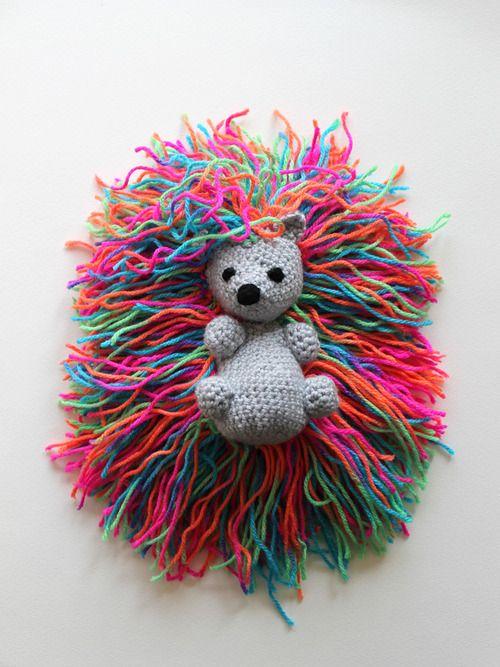 Amigurumi Hedgehog Punk - FREE Crochet Pattern / Tutorial