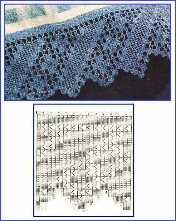1181 best ideas en crochet images on Pinterest   Crochet poncho ...