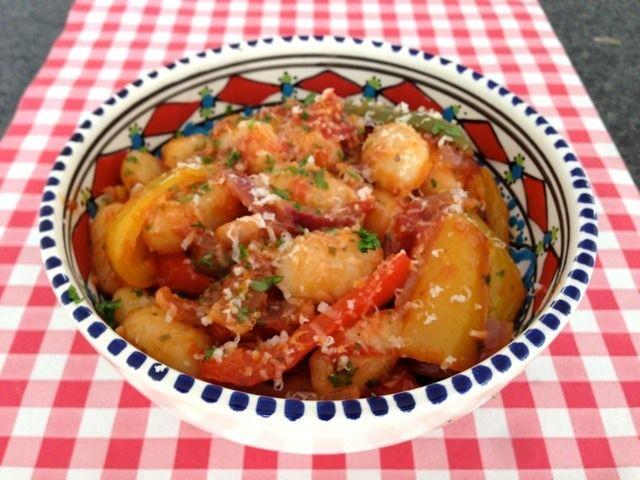 Gnocchi met paprika | Het lekkerste recept vind je op AllesOverItaliaansEten