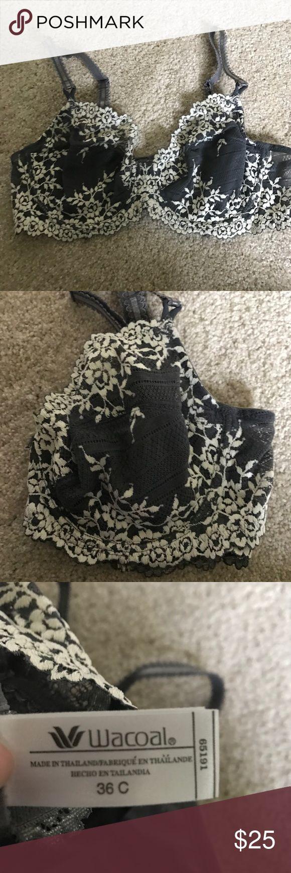 BRAND NEW Wacoal bra Cute lace wacoal bra. Size 36C. Never worn Wacoal Intimates & Sleepwear Bras