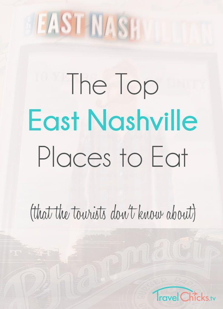 Top East Nashville Restaurants and Coffee Shops