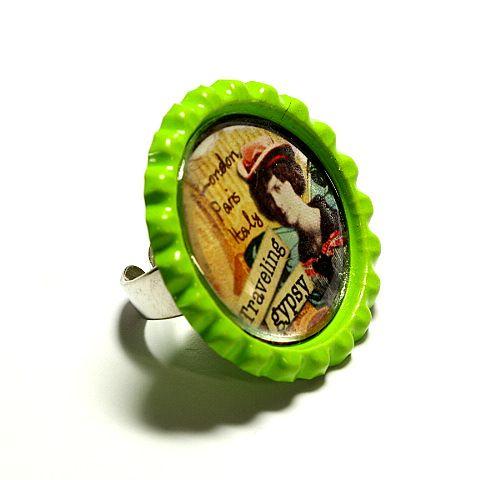 fingerringe #perlen #schmuck #design #finger #rings #bottlecap #green #silver #swarovski #diy #tukadu #berlin #hackeschermarkt #beads #jewelry #necklaces #bracelets #earrings #trends2014 #spring2014 #berlin2014