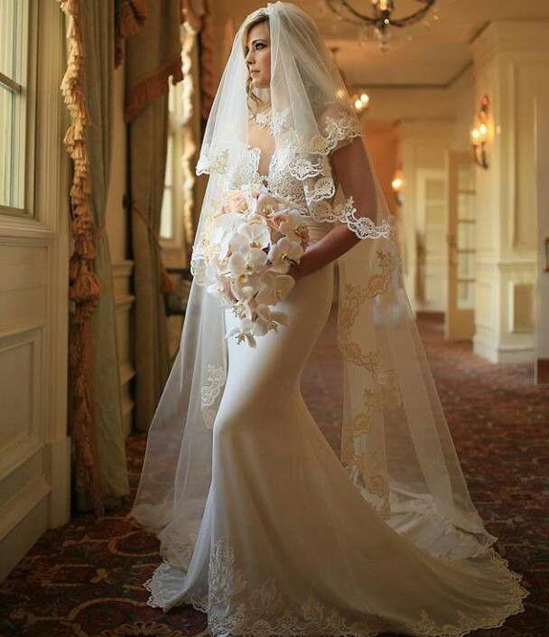 Русалка реальные фотографии свадебное платье v-образным вырезом с коротким рукавом кружева атласная открытое назад платье макси зрелые секс свадебное платье