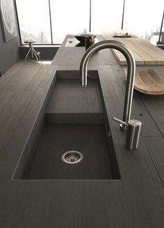 Modulnova kitchen | modern kitchen interior design inspiration bycocoon.com | sturdy stainless steel kitchen taps | kitchen design | bathroom design | project design | renovations | Dutch Designer Brand COCOON