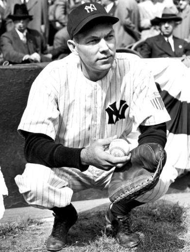 Bill Dickey, New York Yankees - BL-1354-70 (National Baseball Hall of Fame Library)
