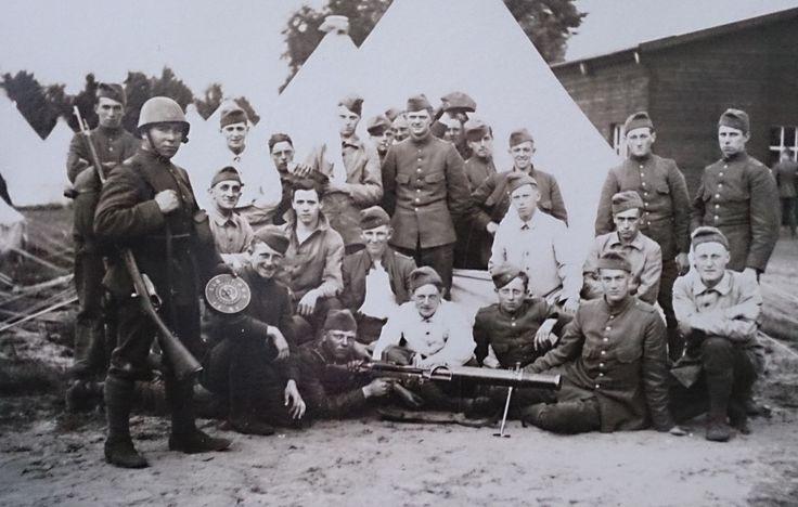 Grandfather shooting range Harskamp (1931)