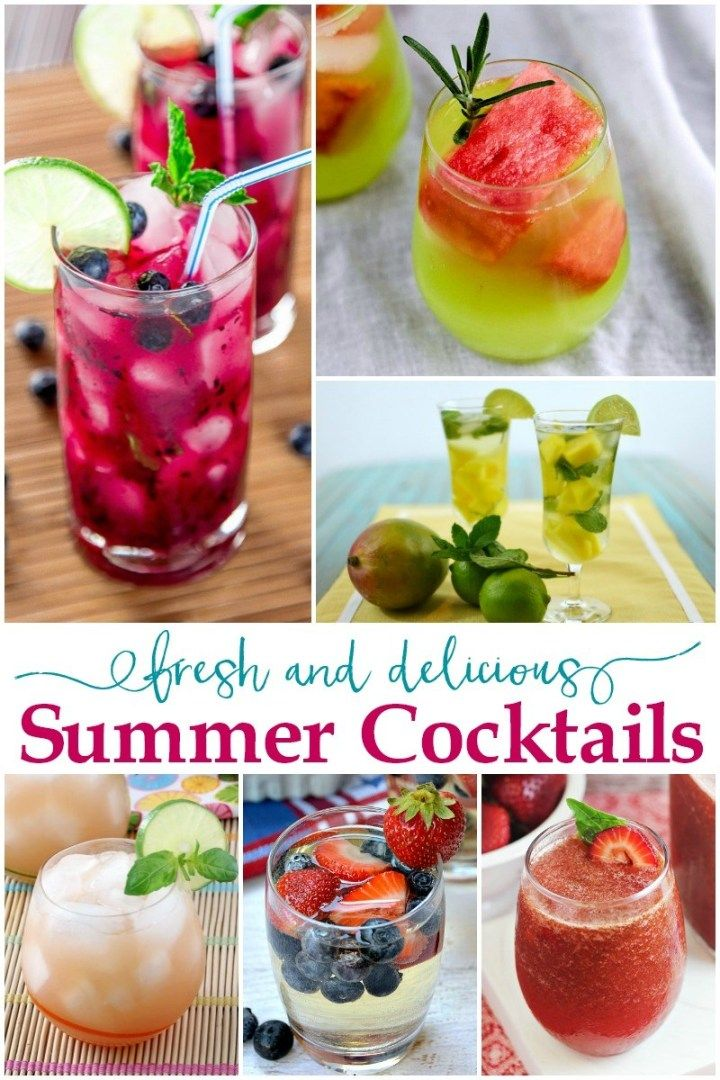 20 Fresh and Delicious Summer Cocktails