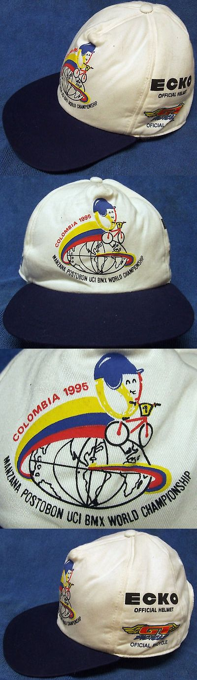 Hats Caps and Headbands 158994: Vintage 1995 Uci Bmx World Championship Cap: Melgar, Columbia, Numbered Hat, Vgc -> BUY IT NOW ONLY: $34.99 on eBay!