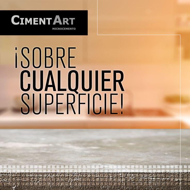 Reviste cualquier superficie con #microcemento y obtendrás un acabado #impermeable y con #estilo, para cocinar a gusto, por ejemplo. #cimenart #superficie #encimeras