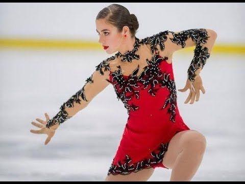 Steluța de gheață - Ea este Amanda Stan, una dintre speranțele patinajul...