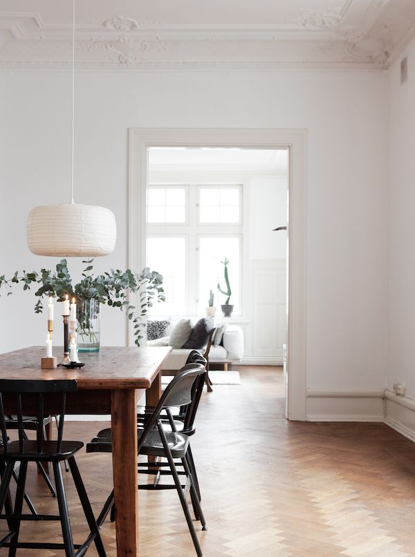 The lovely serene home of a Swedish singer