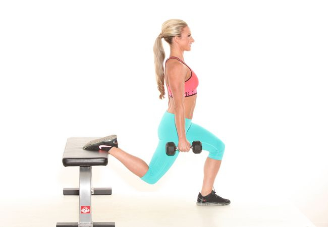Bulgarian-split-squats | The ultimate leg workout | PICTURE | Women's Health & Fitness