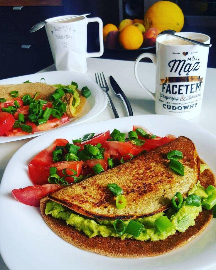 Omlet z quacamole