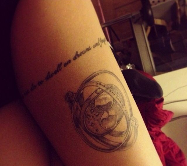 Time turner - Harry Potter inspired tattoo