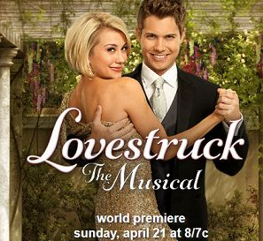 "Drew Seeley and Chelsea Kane in ""Lovestruck : The Musical"" on ABC Family with a special personal message from Drew Seeley."