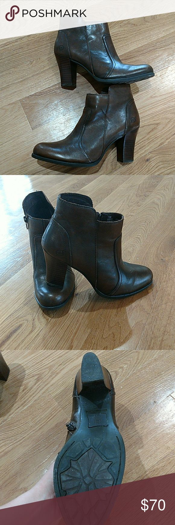 Born ankle boots Gorgeous high heeled ankle boots only worn a couple of times in excellent condition Born Shoes Ankle Boots & Booties
