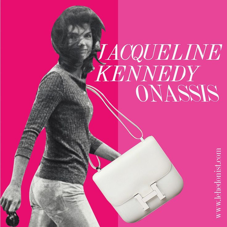 Created way back in 1959, this bag, though named Constance after the designer's daughter, quickly became a great favourite of Jackie Kennedy. She carried this elegant shoulder bag so often that it was dubbed the O-Bag after her.