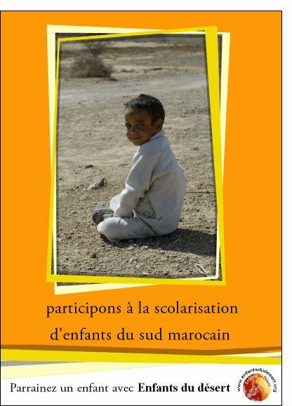 Carte Parrainez un enfant pour envoyer par La Poste, sur Merci-Facteur !