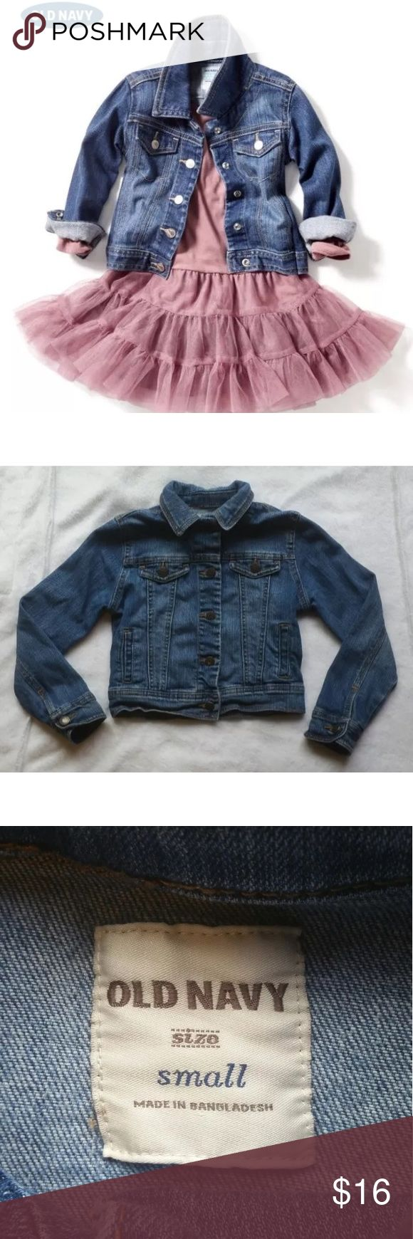 Old Navy Jean Jacket Size S (6-7) Old Navy Jackets & Coats Jean Jackets