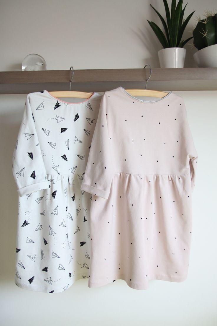 DIY - sew - Sienna jurk La Maison Victor LMV, stof Chat Chocolat en dendepot