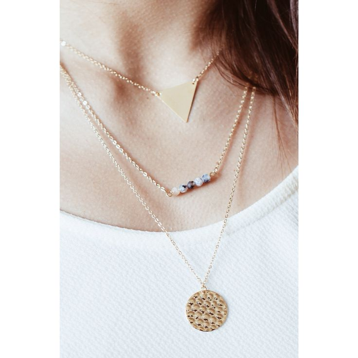 | Amazing geometric tier necklace - our newest collection |  #necklace #design #cute #stylish #jewellery #jewelry #fashion www.pinterest.com