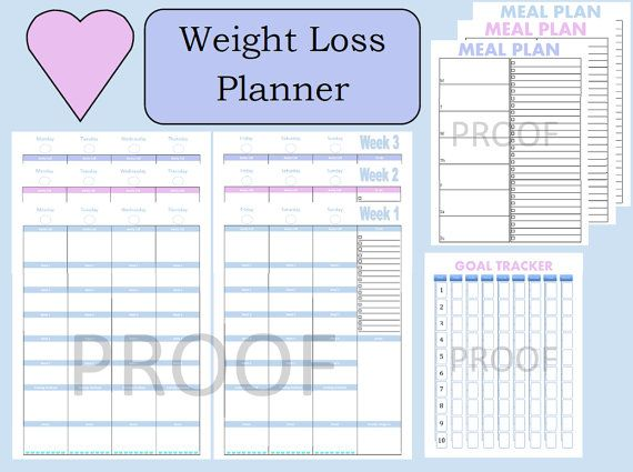 17 best images about 21 day fix printable sheets on for Weight loss goals template