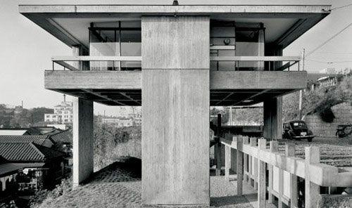 Sky House | 1958 | Tokyo, Japan | Architect Kiyonori Kikutake
