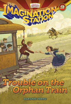 Trouble on the Orphan Train - Marianne Hering